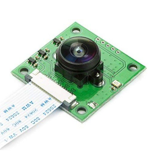 5MP OV5647 Fisheye Camera Module for Raspberry Pi
