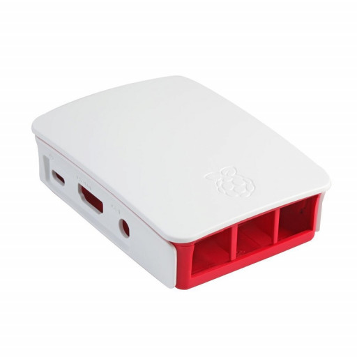 Official Casing for Raspberry Pi 2 / 3B / 3B+ (White)