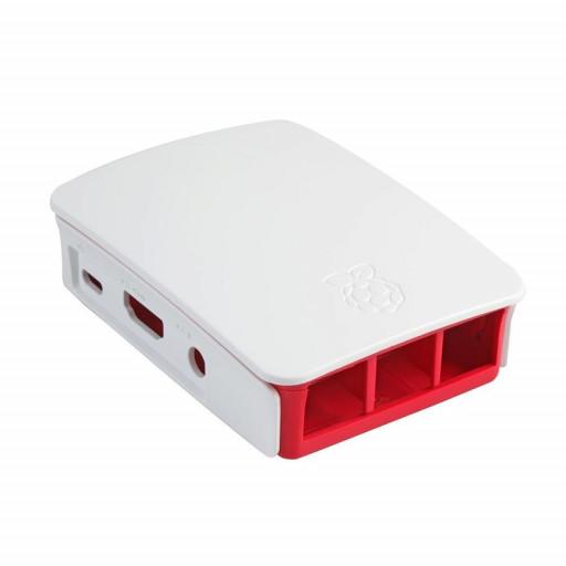Official Casing for Raspberry Pi 2 / 3B / 3B+ (White)