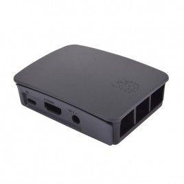 Vỏ Chính hãng cho Raspberry Pi 3B / 3B+ (Đen/Xám)