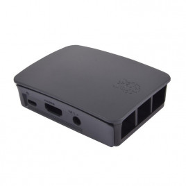 Official Casing for Raspberry Pi 2/3/B+  (Black/Grey)