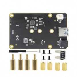 USB3.0 to M.2 NGFF (SATA) SSD Expansion Board for RPi4B