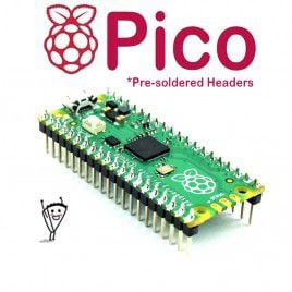 Raspberry Pi Pico - Pre-soldered Headers