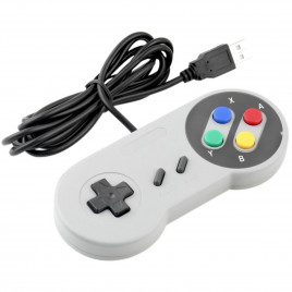 Classic Retro Super Nintendo USB Gamepad