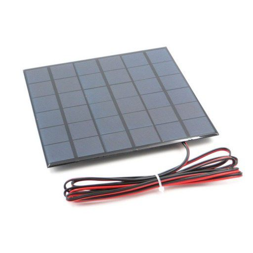 Solar Cell/Panel 9V 467mA (4.2W) Wire Soldered
