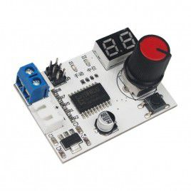 Servo Controller with Voltage Display and Control Knob