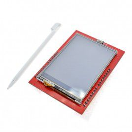 2.4-Inch Touch Screen TFT LCD Shield for Arduino