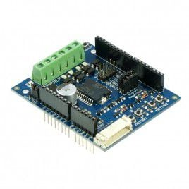 0.8Amp 5V-26V DC Motor Driver Shield for Arduino (2 Channels)