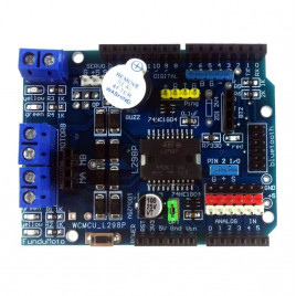 Shield L298P Motor Driver with GPIO
