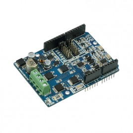 10Amp 7V-30V DC Motor Driver Shield for Arduino