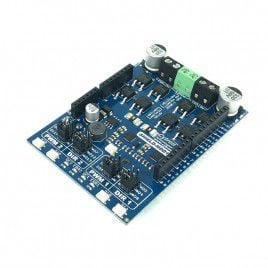 10Amp 7V-30V DC Motor Driver Shield for Arduino (2 Channels)