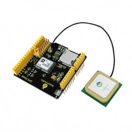NEO-M6 GPS and microSD Shield for Arduino