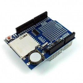 Shield Data logger with DS1307 RTC