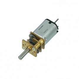 6V 320RPM High Power DC Micro Metal Gearmotor
