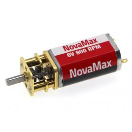 6V 800RPM Super Power DC Micro Metal Gearmotor (NovaMax)