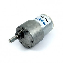 12V 225RPM 1.3kgfcm Brushed DC Geared Motor