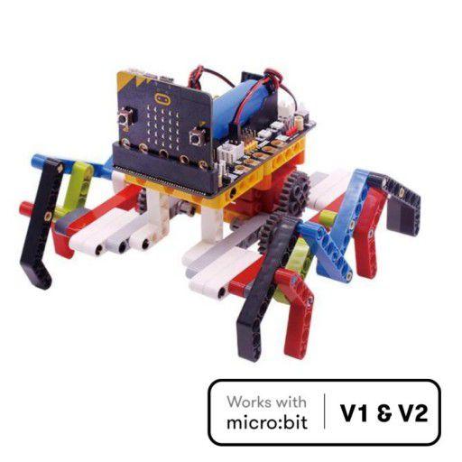Spider:bit - Programming Building Blocks (without micro:bit)