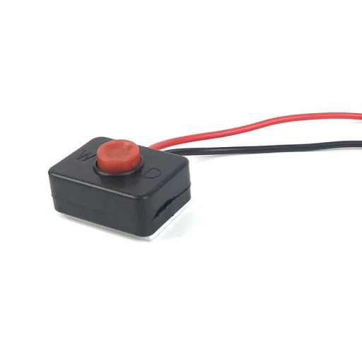 None Latch (momentary) Push Button With Wires