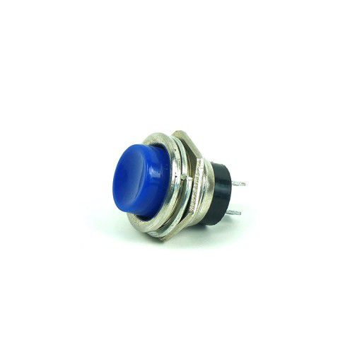 HL8211 Push To On Button (Blue)