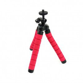 Flexible Portable Camera Stand-Red
