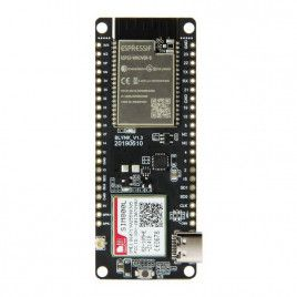 TTGO T-Call ESP32 with SIM800L GPRS Module-Presolder Header