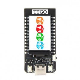 TTGO T-Display ESP32 1.14 Display Module-Presolder Header