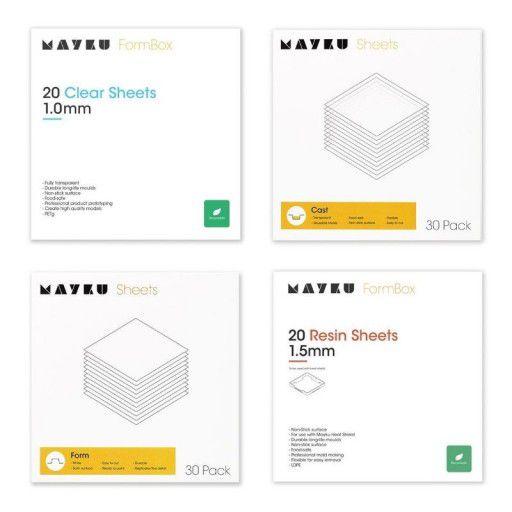 Mayku Formbox Materials