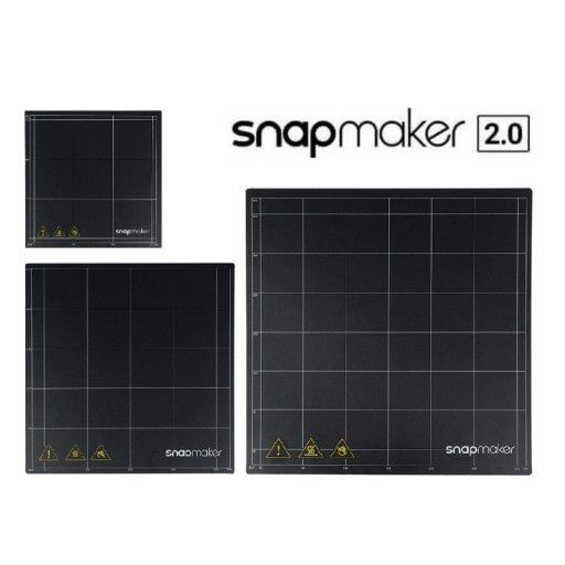 Print Sheet with Double Sided Printing Sticker - Snapmaker 2.0