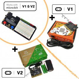 micro:breadboard Expansion Board and Bundles