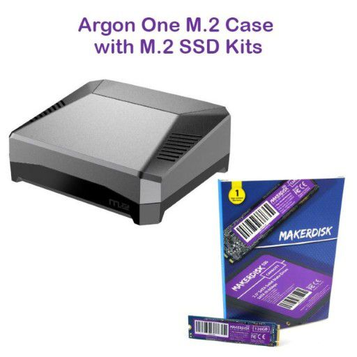 Argon One M.2 Case with M.2 SSD Kits