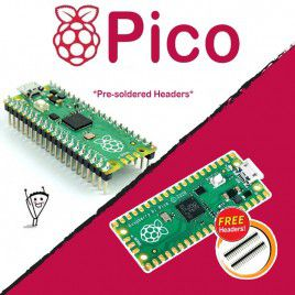 Raspberry Pi Pico Microcontroller Board