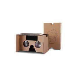 Google 3D Virtual Reality Box Version 2.0 - Brown Paper
