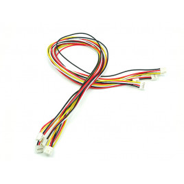 Grove 4 Pin Buckled 50cm Cable - 5 pcs