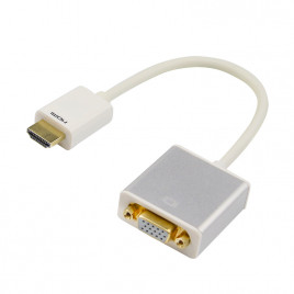 HDMI to VGA Adapter with Audio & Power