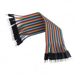 40 sợi dây cắm Male - Male - Dài 20cm