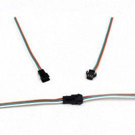 NeoPixels Strip Male & Female Cable 15cm