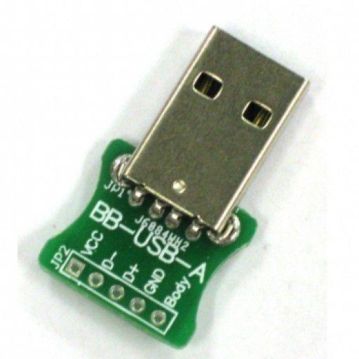 Breakout USB A Type Male