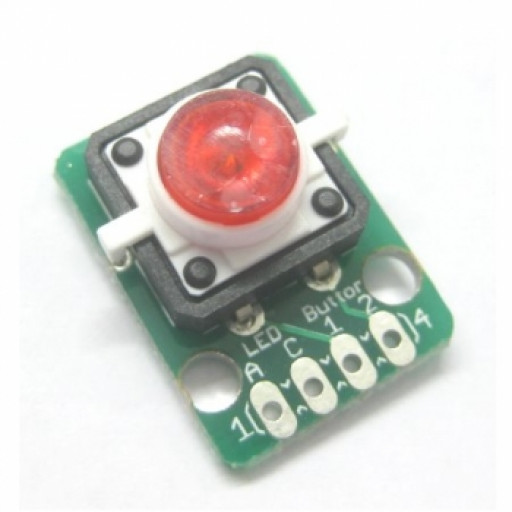 Button LED Red Module