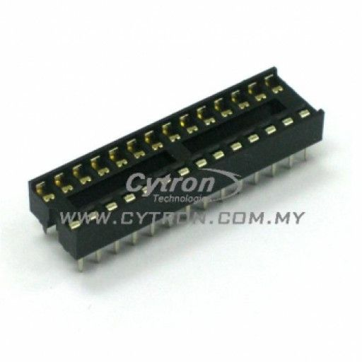 IC Socket-28 pin(slim)