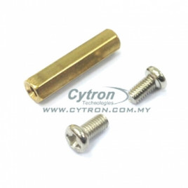 M3 PCB Stand (screw & screw)30mm