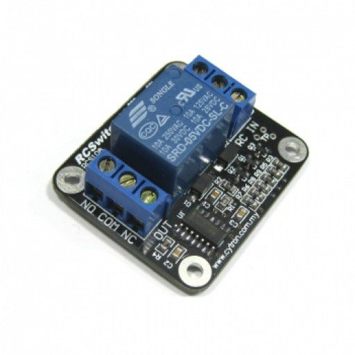 RCSwitch10 - RC controlled Relay Switch