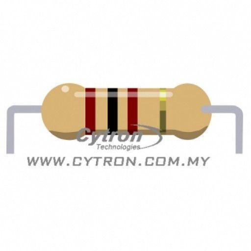 Resistor 0.25W 5% (100R)