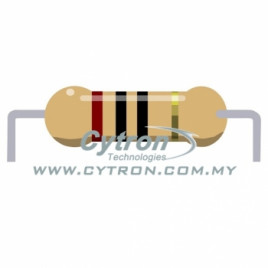 Resistor 0.25W 5% (10R)