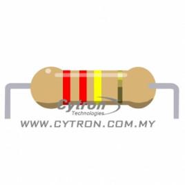Resistor 0.25W 5% (220K)