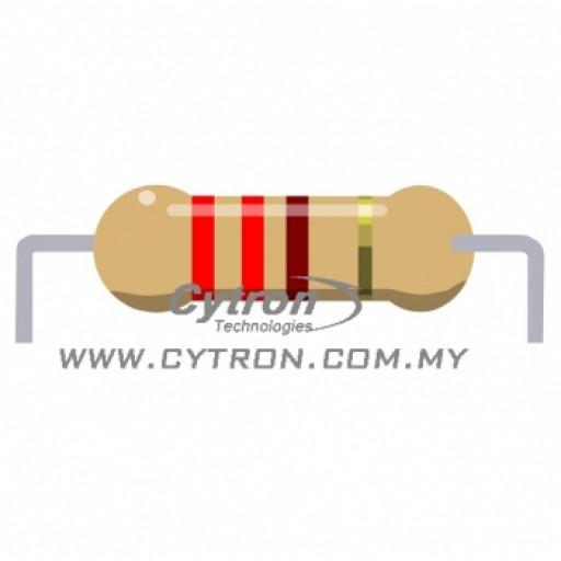 Resistor 0.25W 5% (220R)