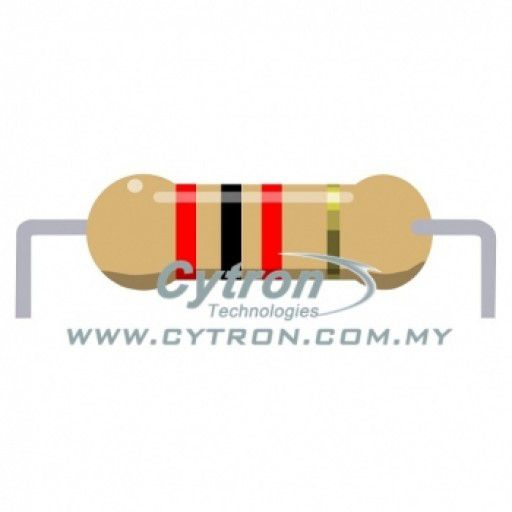 Resistor 0.25W 5% (2K)