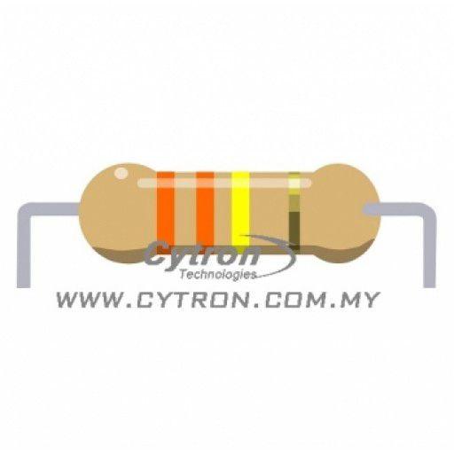 Resistor 0.25W 5% (330K)