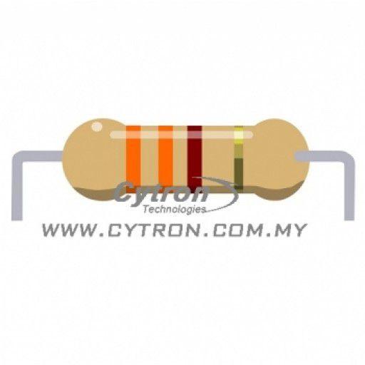 Resistor 0.25W 5% (330R)