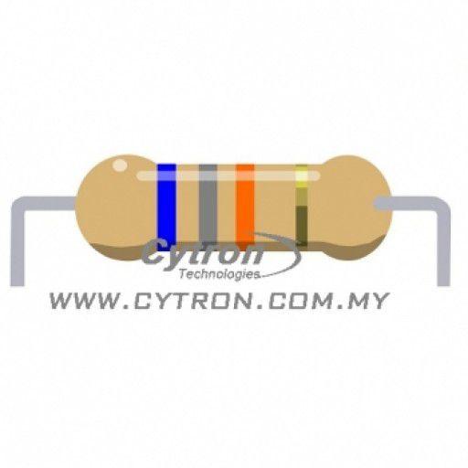 Resistor 0.25W 5% (68K)