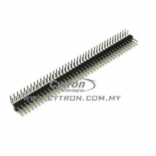 Right Angle Pin Header (Male) 2x40 Ways